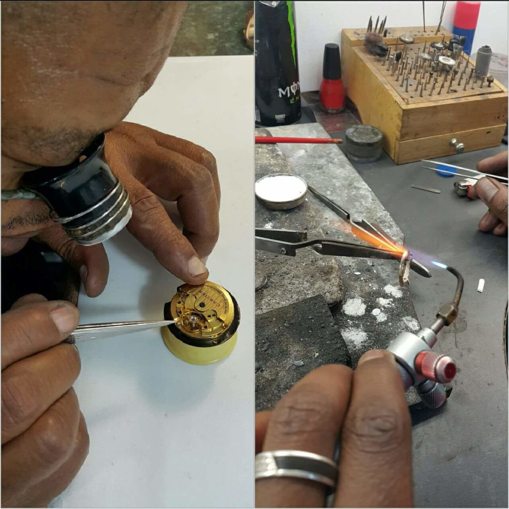 About us Watch & jewellery repairs